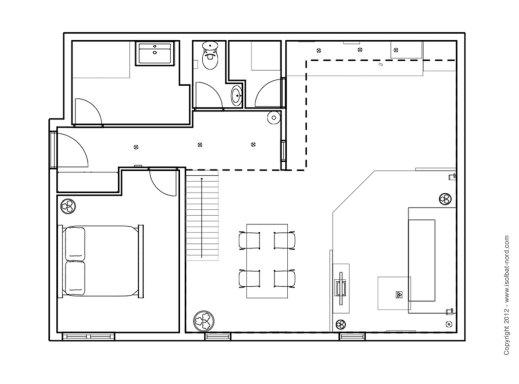 Architecture isolbat for Plan d un maison